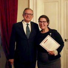 La sommelière Gabrielle Plastre, demi-finaliste au concours des vins de Porto et du Douro