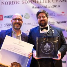 Francesco Marzola, meilleur sommelier Nordique 2018