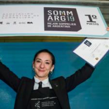 Valeria Gamper, Argentina's Best Sommelier 2019