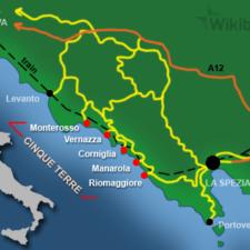 À voir et à boire à Cinque Terre, en Ligurie